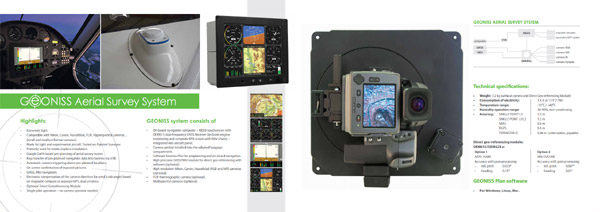 Complete system for vertical aerial imaging